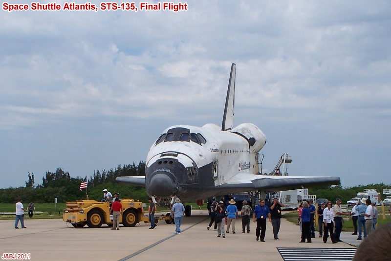 space shuttle after landing - photo #43