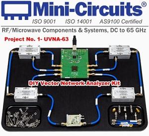 Mini-Circuits' DIY Vector Network Analyzer Kit - RF Cafe