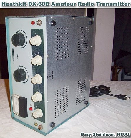 Heathkit DX-60B Amateur Radio Transmitter Restoration by