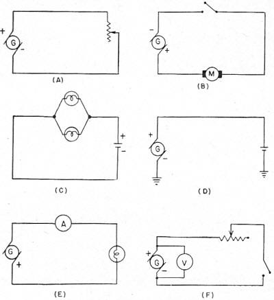 electricity   basic navy training courses  navpers   chapter     figure    practice circuits