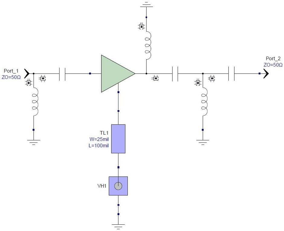 using simulation tools to debug an oscillating amplifier