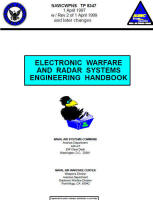 Electronic Warfare and Radar Systems Engineering Handbook Cover - RF Cafe
