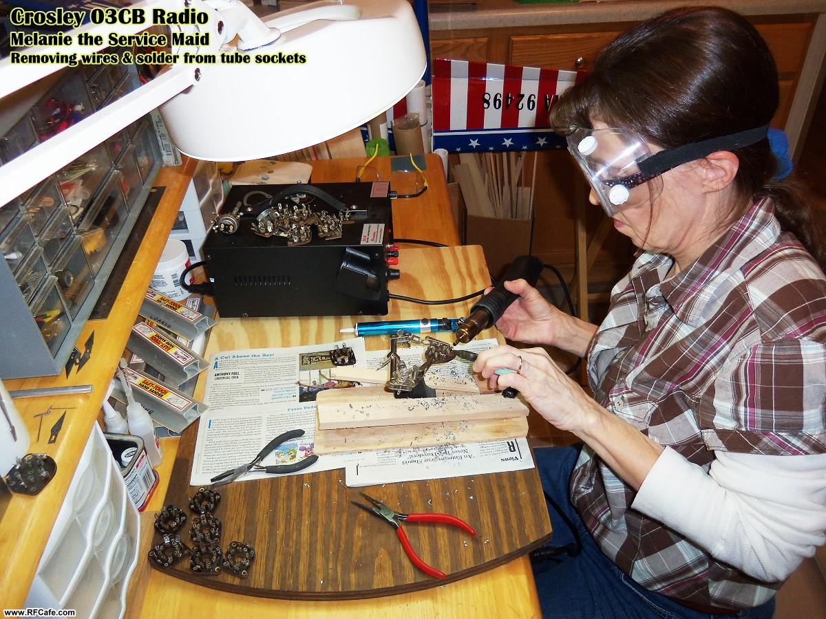 1941 model 03cb crosley floor console radio restoration project melanie the service maid crosley 03cb console radio rf cafe