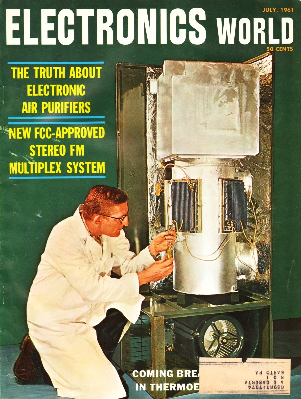 Mac's Service Shop: Automation and the Technician, July 1961