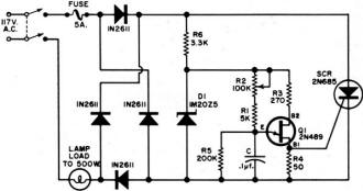 Circuit Diagram For Motor Control Sensor By Jim Lepkowski in addition Bridge Rectifiers Circuits further Current Monitor Relay Wiring Diagram Wiring Diagrams in addition Simple Battery Charger Circuit And in addition Px Photocell Installation. on wiring diagram control transformer