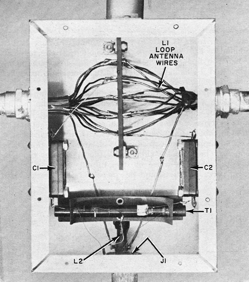 V L F  Loop Antenna, January 1963 Electronics World - RF Cafe
