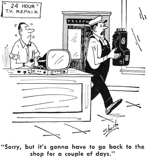 electronics-themed comics  may 1963 electronics world