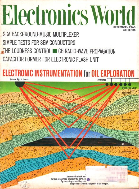 CB Radio-Wave Propagation, December 1963 Electronics World - RF Cafe