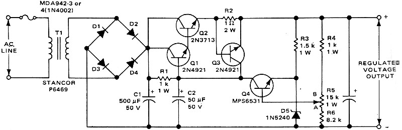 Series-Pass Regulators, March 1969 Electronics World - RF Cafe