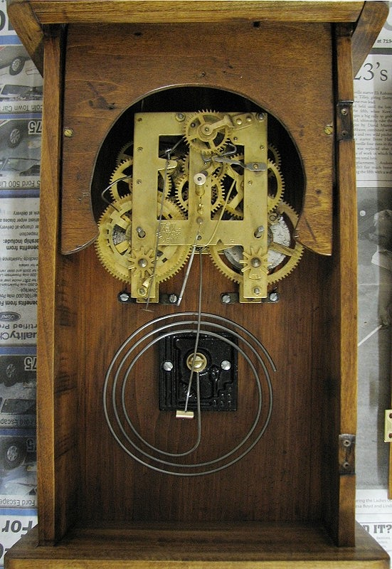 PendulumDriven Mechanical Clock Escapement RF Cafe