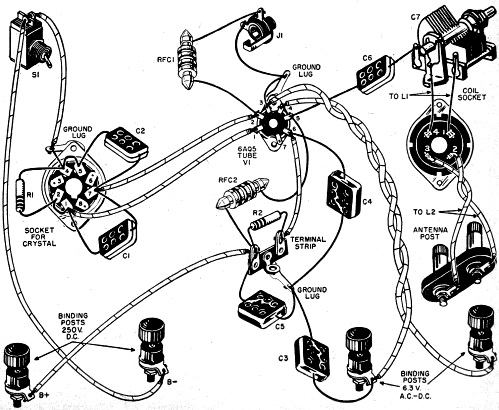 Build This Novice Cw Transmitter February 1955 Popular Electronics