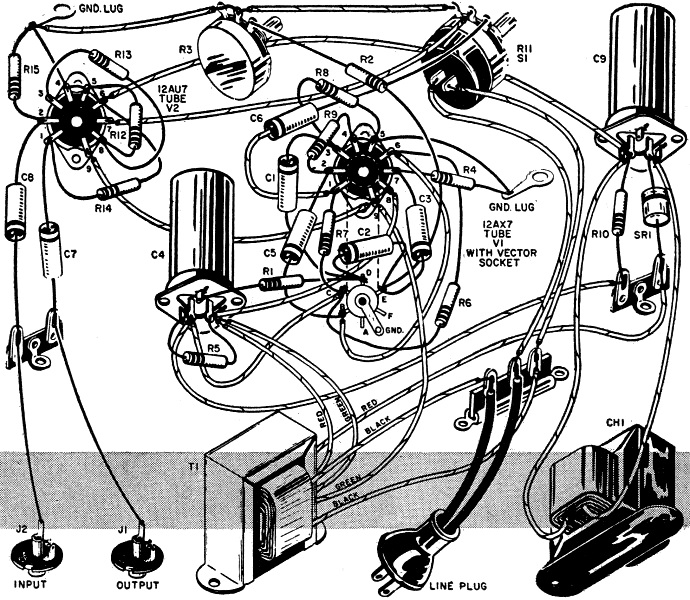 build you own vibrato december 1957 popular electronics 1 build your own vibrato, december 1957 popular electronics rf cafe High-End Tube Amp Schematics at panicattacktreatment.co