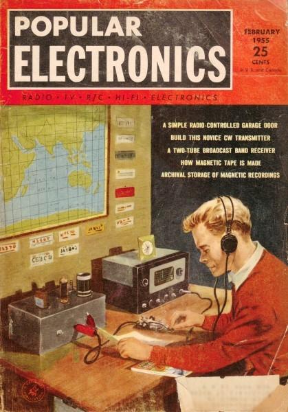 Build This Novice CW Transmitter, February 1955 Popular Electronics
