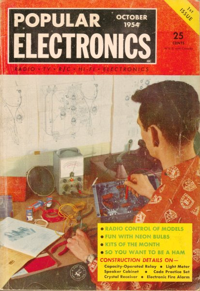Solar Battery October 1954 Popular Electronics Rf Cafe