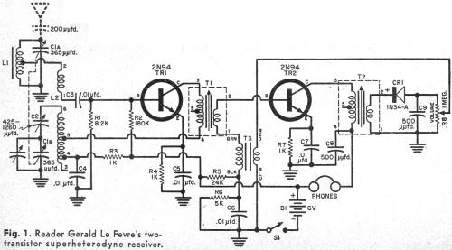 transistor topics  december 1957 popular electronics