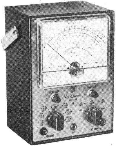 Popular Electronics Builds a Vacuum-Tube Voltmeter, May 1959 Popular Electronics - RF Cafe