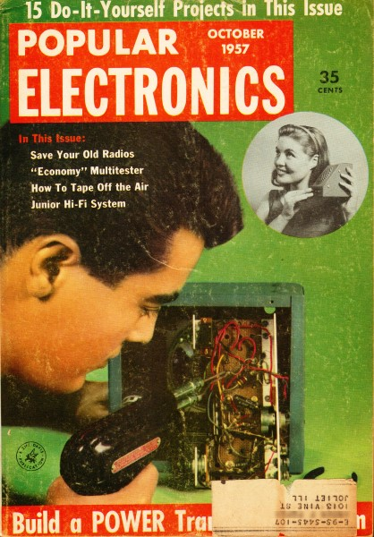 Vintage popular electronics magazine articles rf cafe toc popular electronics cover october 1957 rf cafe solutioingenieria Choice Image