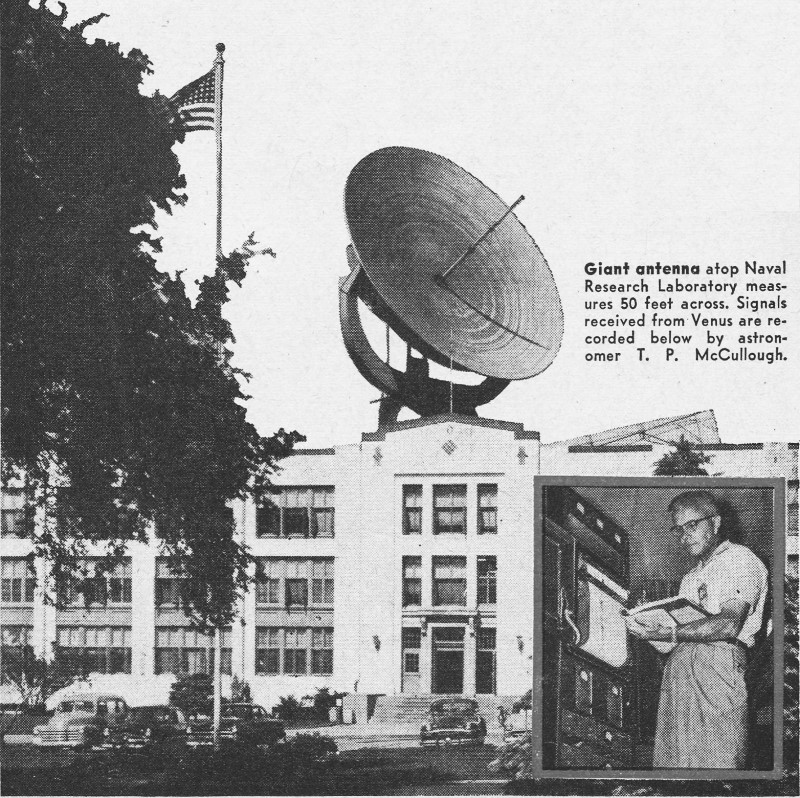Radio Waves Heard from Jupiter and Venus, September 1956 Popular