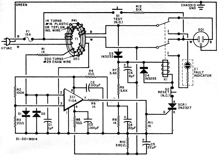ground fault plug wiring diagram wiring solutions rh rausco com