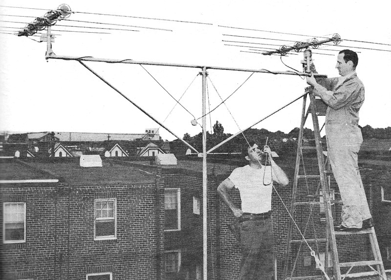 How to Stack TV Antennas to Increase Signal Strength and to