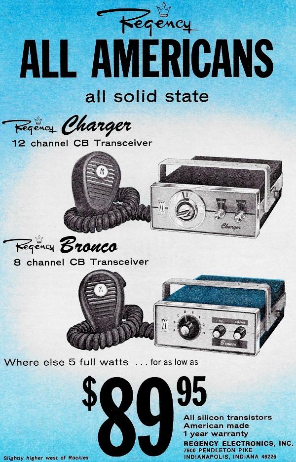 Citizens Band (CB) Radios, May 1967 Popular Electronics - RF