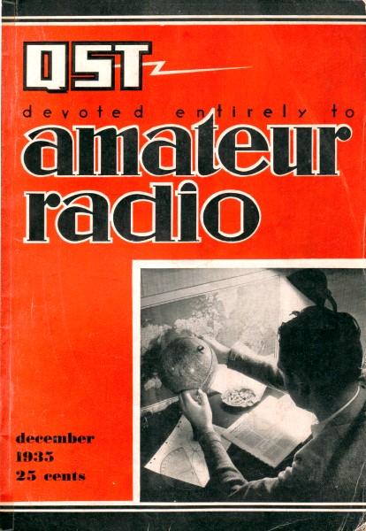 Amateur Radio Stations, December 1935 QST - RF Cafe