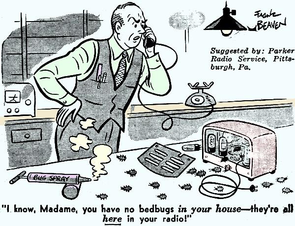 High Tech Comics, November 1944 Radio-Craft - RF Cafe