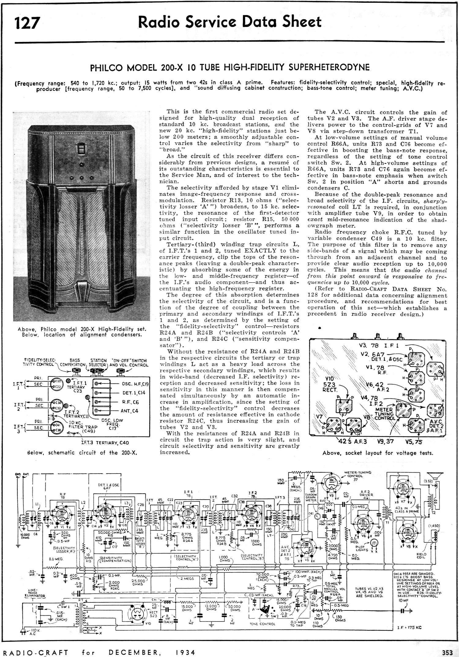 Linac in addition Bazooka Tube Wiring Harness further Schematic moreover Al80 further Art13. on tube radio schematic