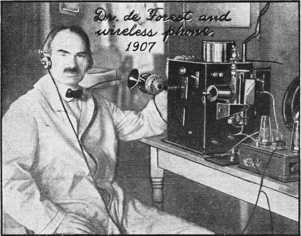 the life of lee de forest Inventor and electrical engineer lee de forest held nearly 180 patents, but is best known by far for his 1907 improvements to the vacuum tube invented by john ambrose fleming de forest's innovation was a three-electrode vacuum tube, or triode, which he trademarked as the audion capable of.