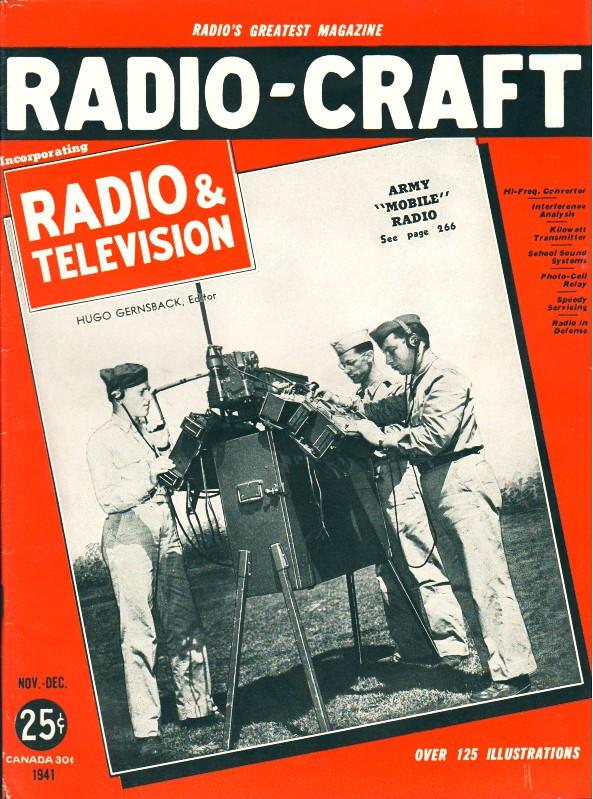 Coil Coupling Problems, November December 1941 Radio-Craft