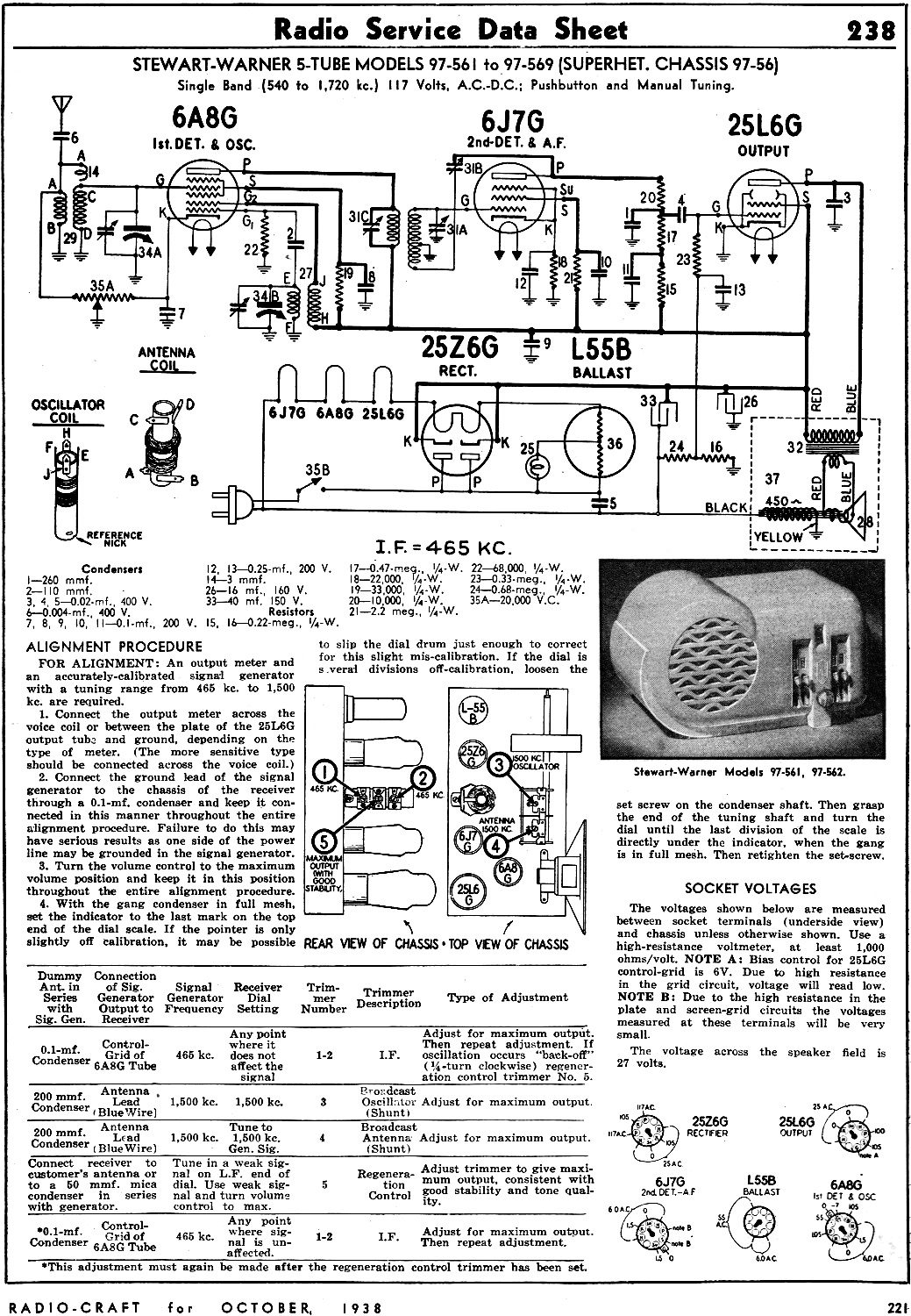 Stewartwarner 5tube Models 97561 To 97569 Superhet Chassis 97. Stewartwarner 5tube Models 97561 To 97569 Superhet Chassis 9756 Radio Service Data Sheet. Wiring. Zenith Tube Radio Schematics 1938 At Scoala.co