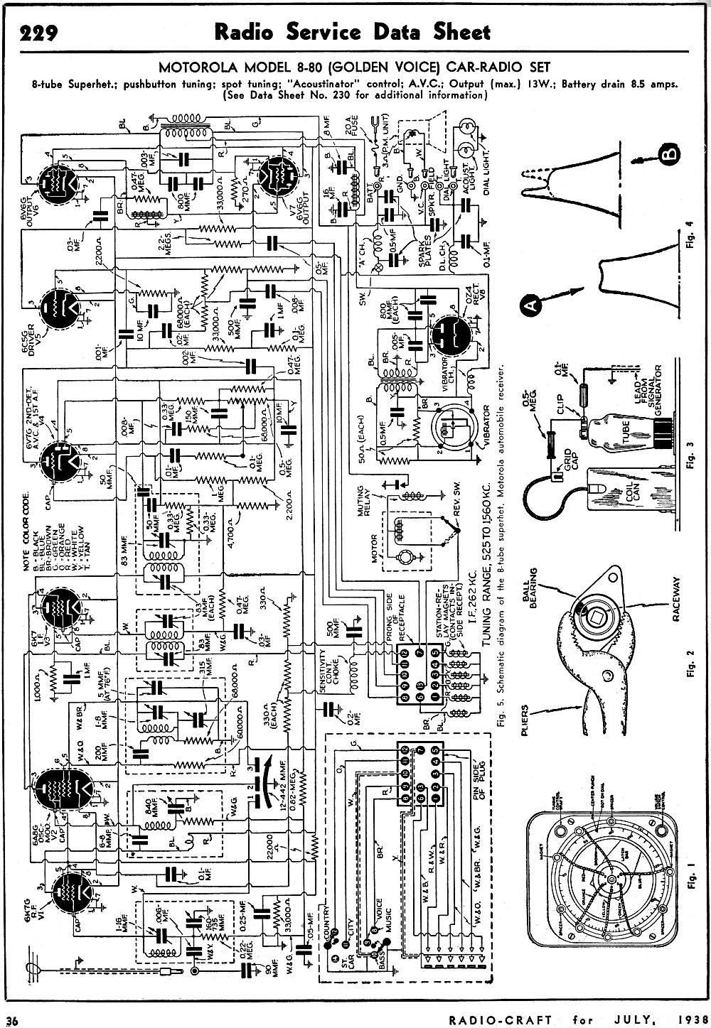 Discount car stereo maintenance schedules user manuals ford sirius radio headset view 1 array motorola model 8 80 golden voice car radio set radio service data rh rfcafe fandeluxe Images