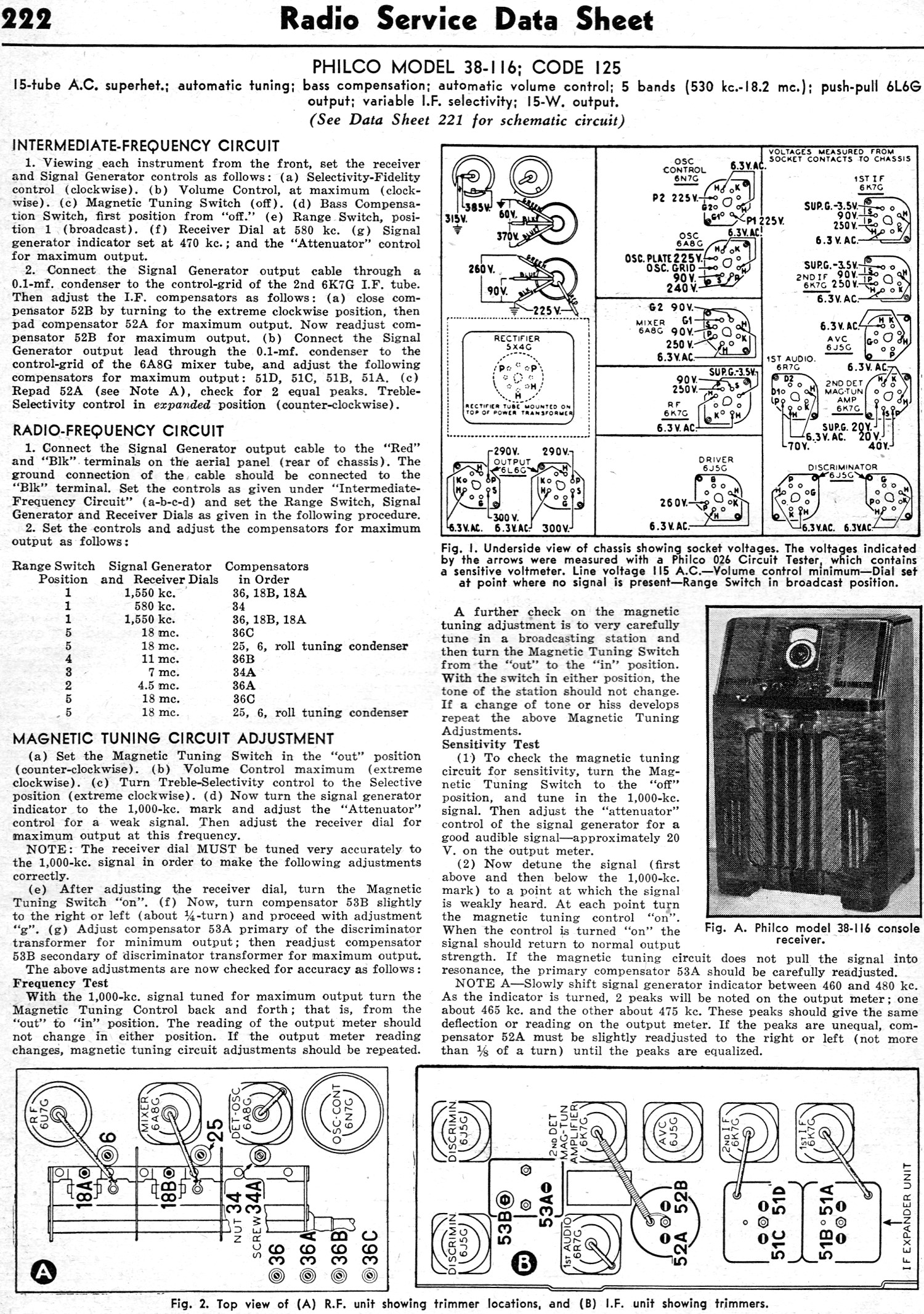 Philco Model 38116 Code 125 February 1938 Radiocraft Rf Cafe. Philco Model 38116 Code 125 February 1938 Radiocraft 222. Wiring. Zenith Tube Radio Schematics 1938 At Scoala.co