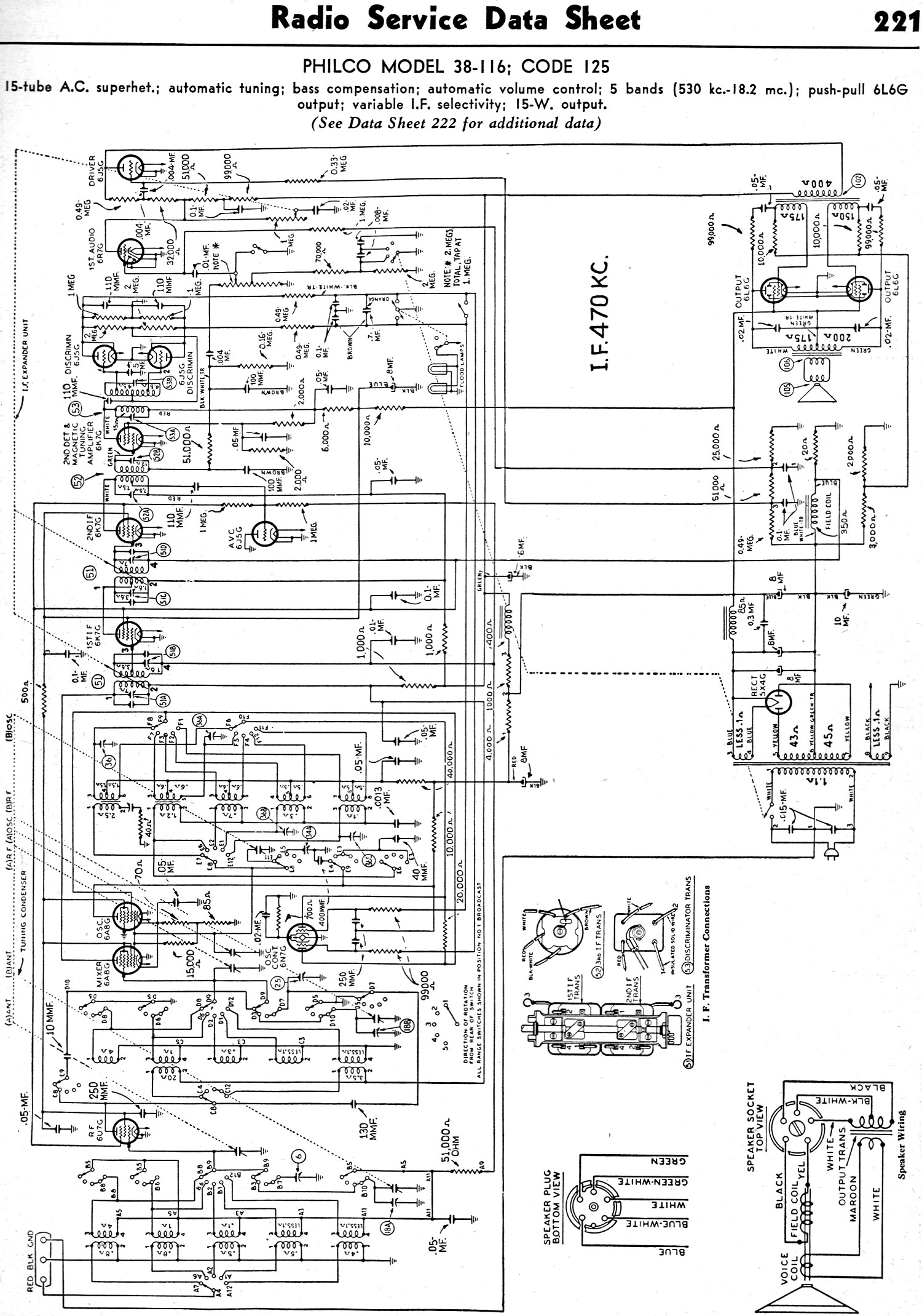Philco Model 38116 Code 125 February 1938 Radiocraft Rf Cafe. Philco Model 38116 Code 125 February 1938 Radiocraft 221. Wiring. Zenith Tube Radio Schematics 1938 At Scoala.co