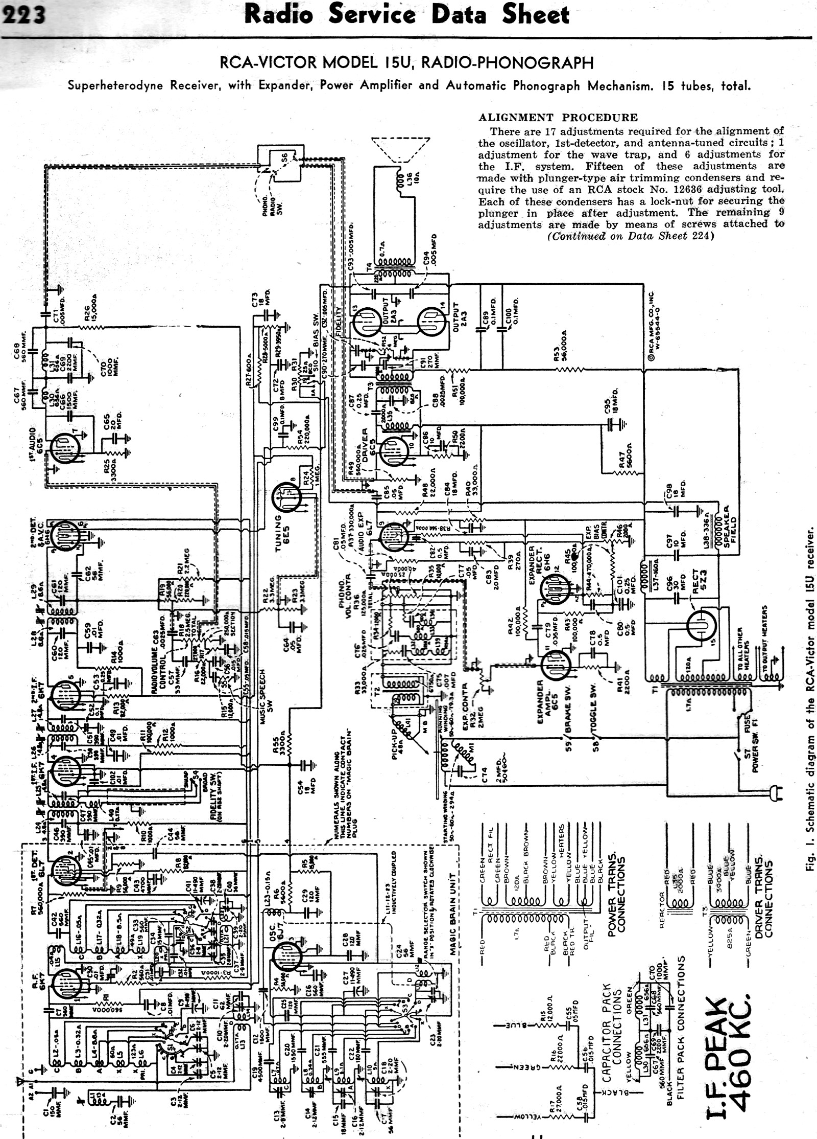 Rcavictor Model 15u Radiophonograph April 1938 Radiocraft Rf Cafe. Rcavictor Model 15u Sheet 3 Radiophonograph April 1938. Wiring. Zenith Tube Radio Schematics 1938 At Scoala.co