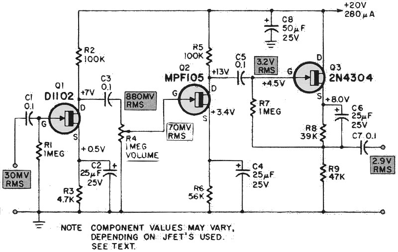 JFET's - Put Last Month's Theory to Work, June 1969 Radio