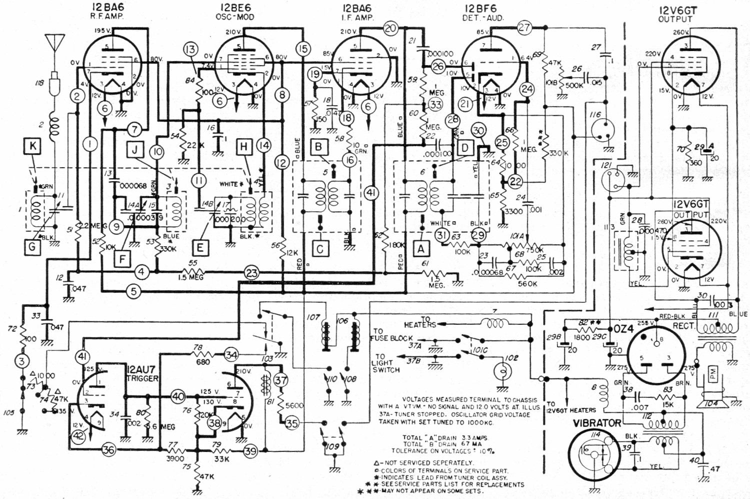 delco am fm radio wiring diagram