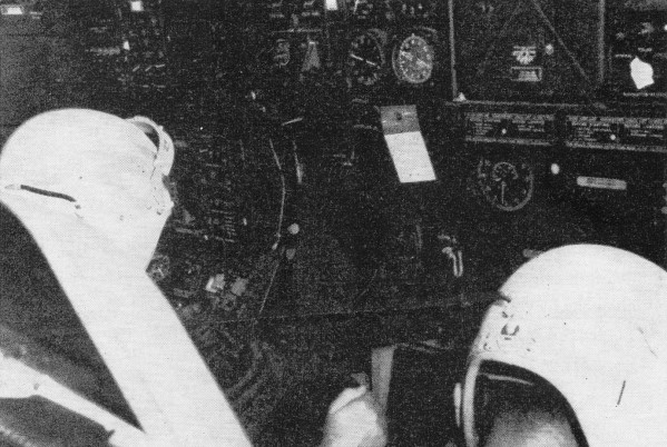 b-52 bomber navigation system  february 1957 radio  u0026 television news