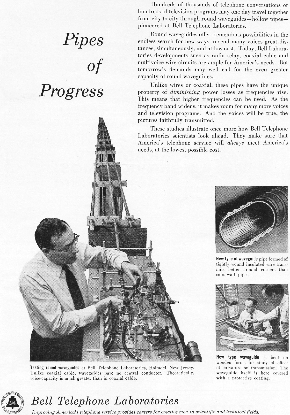 bell telephone laboratories  june 1955 radio  u0026 television news