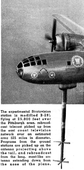 Is Stratovision the Answer?, January 1950 Radio & Television News