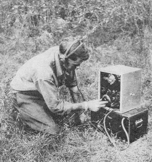 Схема радиостанции лёс