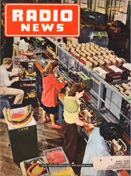 General Electric Model 280 Schematic  U0026 Parts List  August 1947 Radio News