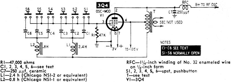 tone modulator for r