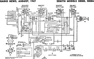 silvertone radio schematics transistor radio schematics