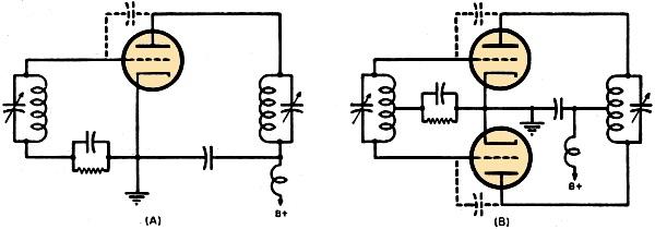 ring oscillators for u h f  transmission  january 1947