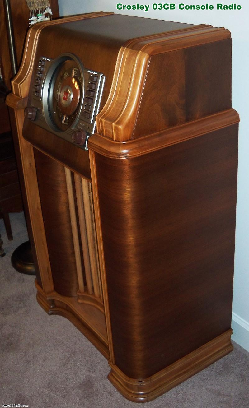 1941 Model 03cb Crosley Floor Console