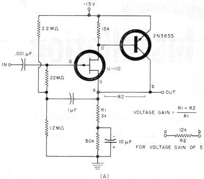 Fet Transistor Circuit Diagram
