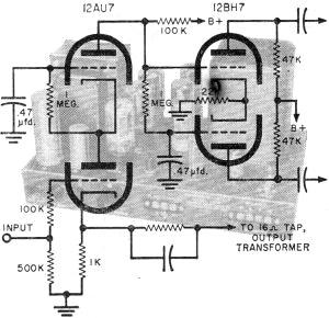 inside the power amplifier part 1 july 1959 popular electronics rf cafe. Black Bedroom Furniture Sets. Home Design Ideas