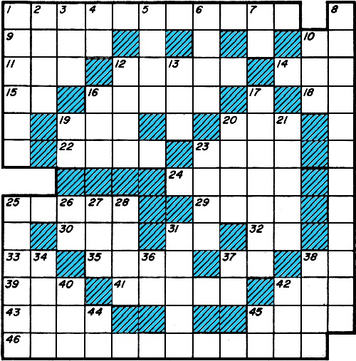 Crossword Puzzle, December 1960 Popular Electronics - RF Cafe