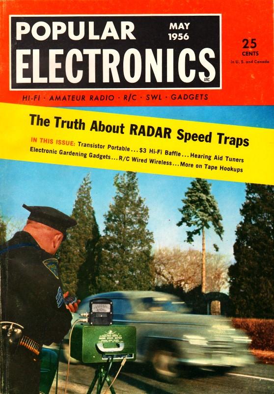 Radios Made From Hearing Aids May 1956 Popular
